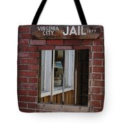 Virginia City Nevada Jail Tote Bag