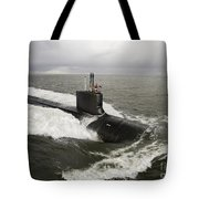 Virginia-class Attack Submarine Tote Bag by Stocktrek Images