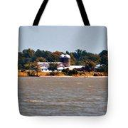 Virginia Farm Tote Bag by Bill Cannon