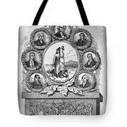Virginia: Motto Tote Bag