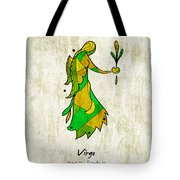 Virgo Artwork Tote Bag
