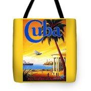 Visit Cuba Tote Bag