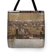 Visscher: London, 1650 Tote Bag