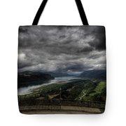 Vista House View Tote Bag