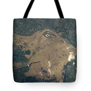 Vistula River Flooding, Southeastern Tote Bag by NASA/Science Source