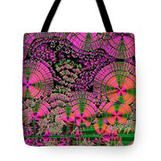 Vitamin C Crystals Spikeberg Tote Bag by M I Walker