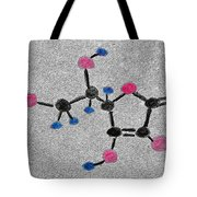 Vitamin C Molecule Tote Bag