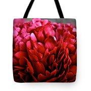 Vivid Red Tote Bag