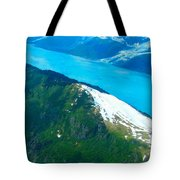 Vivid Waters Tote Bag