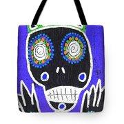 Voodoo King Sugar Skull Angel Tote Bag