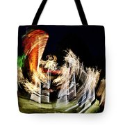 Vortex Of Light Tote Bag