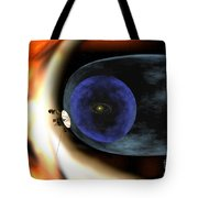 Voyager 2 Spacecraft Studies The Outer Tote Bag