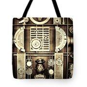 Vulcan Steel  Steampunk Metalworks Tote Bag