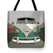 Vw Bus Art Tote Bag