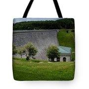 Wachusett Dam Panoramic Tote Bag