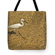 Wading For A Meal Tote Bag