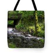 Wahkeena Falls Three Tote Bag