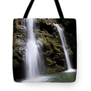 Waikani Falls And Pond Tote Bag