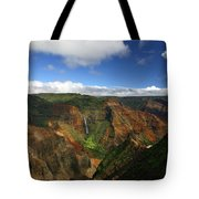 Waimea Canyon Landscape Tote Bag
