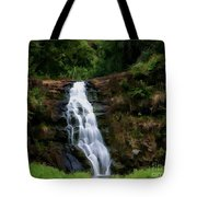 Waimea Valley Falls Tote Bag