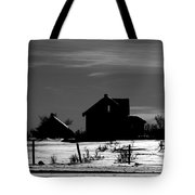 Waiting By The Pain Tote Bag by Empty Wall