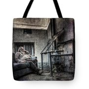 Waiting For The Gas Pressure To Rise Tote Bag