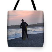 Waiting For The Wave Tote Bag