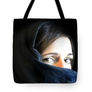 Waiting In Silence Tote Bag