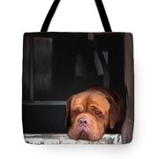 Waiting On A Friend Tote Bag