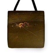 Waiting Spider Tote Bag