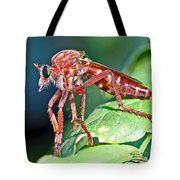 Waiting To Attack II Tote Bag