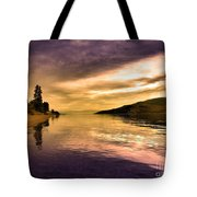 Waiting With The Light Tote Bag