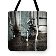 Waitress In Boots Tote Bag by Chris Berry