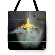 Wake Vortex Flow Visualization Tests Tote Bag