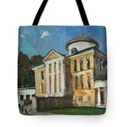 Walk In The Old Manor Tote Bag