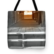 Walk Into The Past Tote Bag