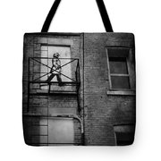 Walk On White  Tote Bag