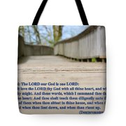 Walkest By The Way Tote Bag