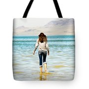 Walking Away 2 Tote Bag