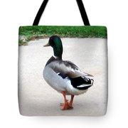 Walking Duck Tote Bag