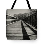 Walking The Lines Tote Bag