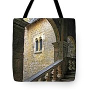 Walking Through A French Castle Tote Bag