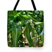 Walking Through The Cornfields Tote Bag