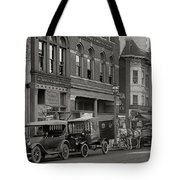 Walking Through The Time Tote Bag