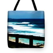 Walkway To The Sea Tote Bag by Phill Petrovic
