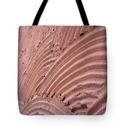 Wall. Abstract Macro Photography. Tote Bag