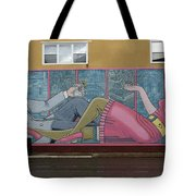 Wall Art In Moose Jaw Tote Bag