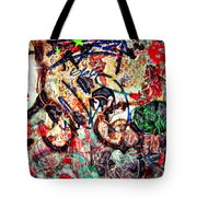 Wall Of Conversation Tote Bag