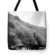 Wall Of Dust, Kansas, 1935 Tote Bag
