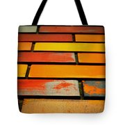 Wall Of Race Tote Bag by Empty Wall